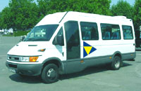 minibus with driver : iveco 19 seater